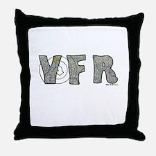 Cute Vfr Throw Pillow