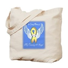 Trisomy 13 Angel boy Tote Bag