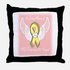Trisomy 13 Angel girl Throw Pillow