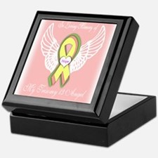 Trisomy 13 Angel girl Keepsake Box