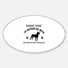 Miniature Pinscher Dog Breed Designs Decal