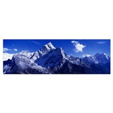 North Side Ama Dablam Khumba Region Nepal Poster