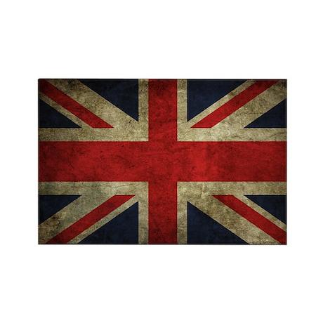 United Kingdom Vintage Flag Magnet