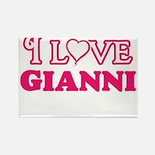 I Love Gianni Magnets