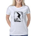 Happy Dubstep Face Jr. Ringer T-Shirt