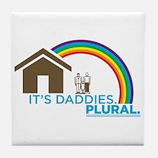 Unique Gay family Tile Coaster