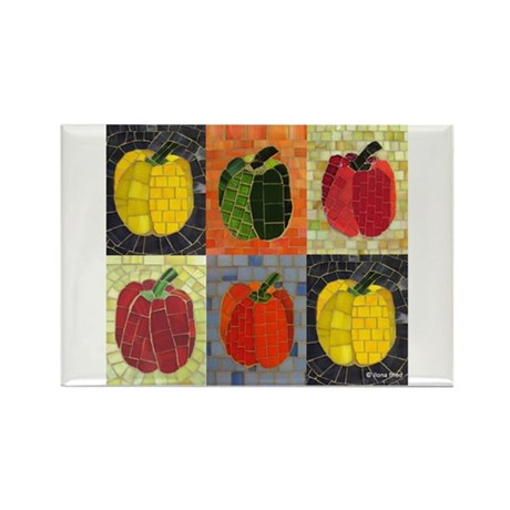 Pack of Peppers Magnet