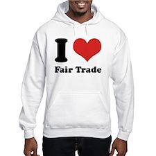 I Heart Fair Trade Jumper Hoody