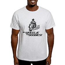 willwheelieforboobies T-Shirt