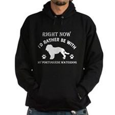 Portuguese Waterdog Dog Breed Designs Hoodie