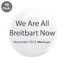"""Breitbart 3.5"""" Button (10 pack)"""