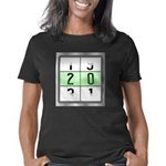 Happy Dubstep Face Women's Long Sleeve Dark T-Shir