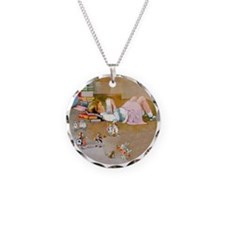 Alice's Trip to Wonderland Necklace
