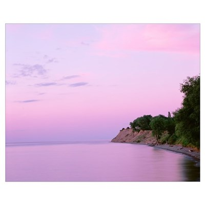 New York, Sodus Bay, Chimney Bluffs State Park, La Canvas Art