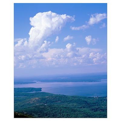 Maine, Acadia National Park, Frenchman Bay, Cadill Poster