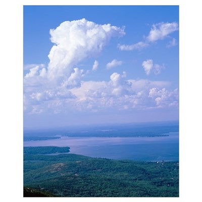 Maine, Acadia National Park, Frenchman Bay, Cadill Canvas Art