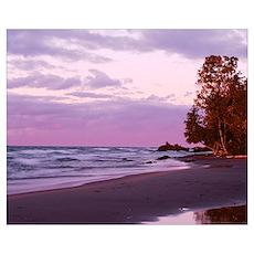 Michigan, Keweenaw Peninsula, Upper Peninsula, Lak Poster