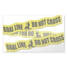 Lacrosse Crime Tape Decal