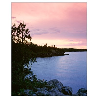 Michigan, Upper Peninsula, Copper Harbor, Lake Sup Poster