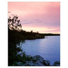 Michigan, Upper Peninsula, Copper Harbor, Lake Sup Poster