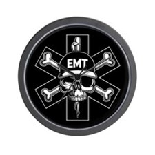 EMT Pirate Day Wall Clock
