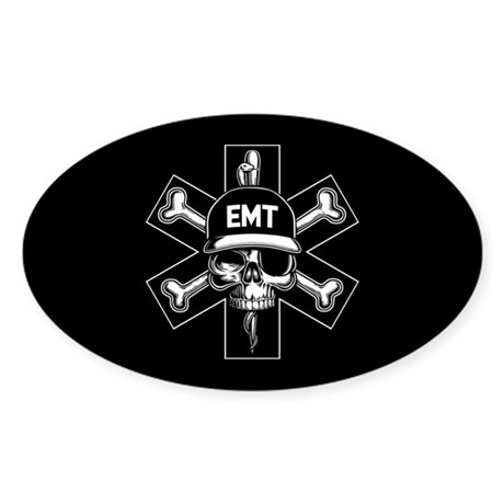 EMT Pirate Day Sticker (Oval)