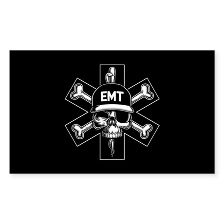 EMT Pirate Day Sticker (Rectangle)