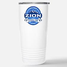 Zion Cobalt Stainless Steel Travel Mug