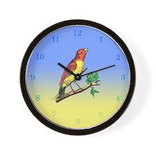 Bird: Wall Clock