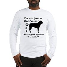 Belgian Laekenois Daddy Long Sleeve T-Shirt