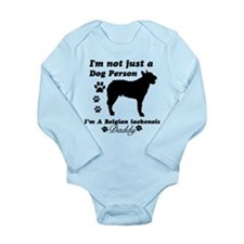 Belgian Laekenois Daddy Long Sleeve Infant Bodysui