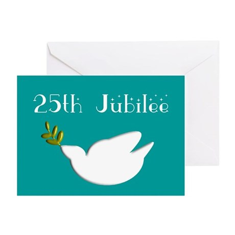 Nun 25th Jubilee Invitations Greeting Cards (Pk of
