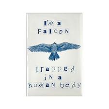 I'm a Falcon Rectangle Magnet