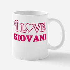 I Love Giovani Mugs
