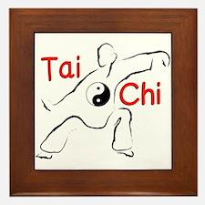 Tai Chi Framed Tile