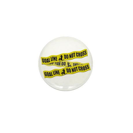 Lacrosse Crime Tape Mini Button (10 pack)
