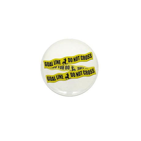 Lacrosse Crime Tape Mini Button