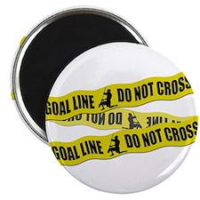 "Lacrosse Crime Tape 2.25"" Magnet (100 pack)"