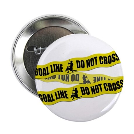 "Lacrosse Crime Tape 2.25"" Button (100 pack)"