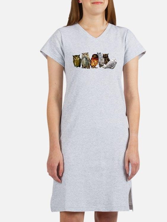 Cute Bird Women's Nightshirt