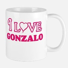 I Love Gonzalo Mugs