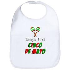 Babys First Cinco De Mayo Bib