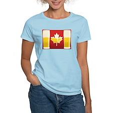 Canada Flag Beer T-Shirt