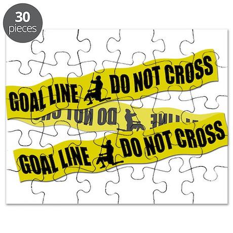 Lacrosse Crime Tape Puzzle
