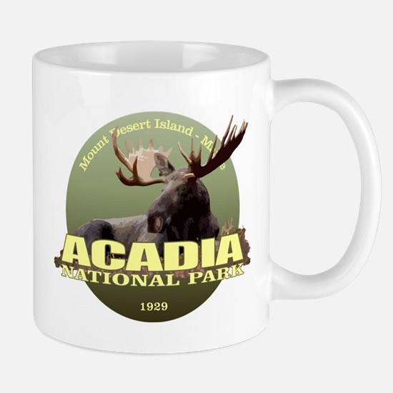 Acadia (Moose) WT Mugs