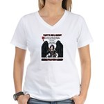 Simi Anti-Bully Women's V-Neck T-Shirt