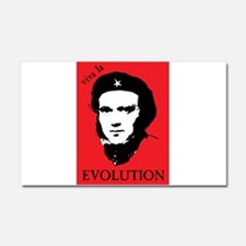 Viva Darwin Evolution! Car Magnet 20 x 12