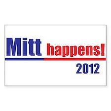"Mitt Romney ""Mitt Happens"" - Decal"