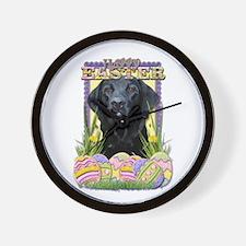 Easter Egg Cookies - Labrador Wall Clock