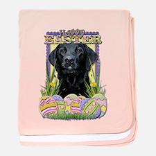 Easter Egg Cookies - Labrador baby blanket